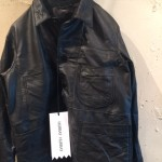HURRAY HURRAY / remake leather JKT / black